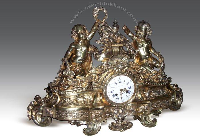 bronz saat