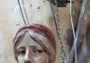 Terracotta bust